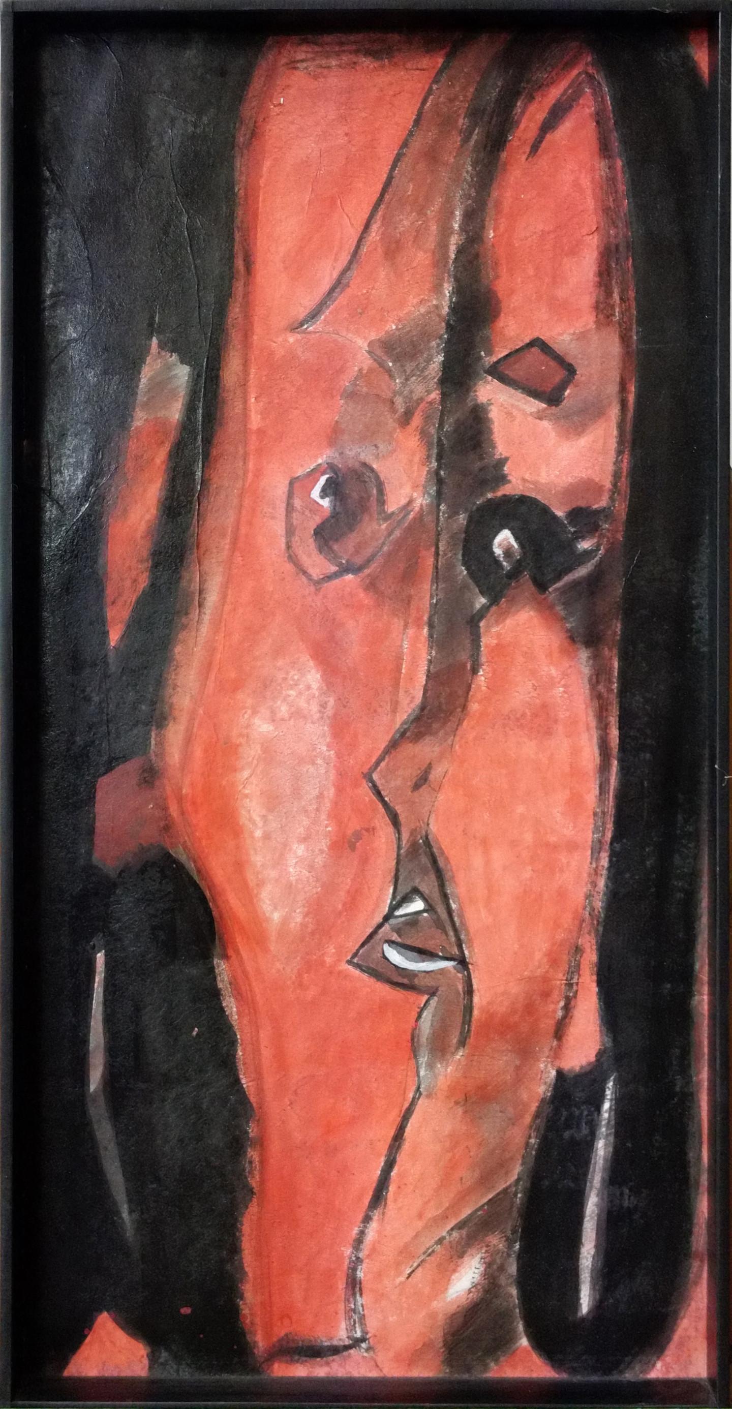 Hervé Loiseau - Portrait en rouge