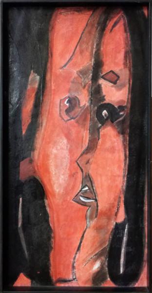 Portrait en rouge